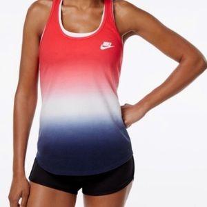 Nike Athletic Cut Ombré Racerback Tank Top